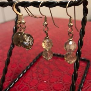 Jewelry - Sterling and stone earrings 💅